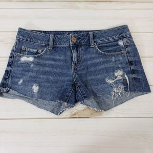 American Eagle Distressed Jeans SZ: 2